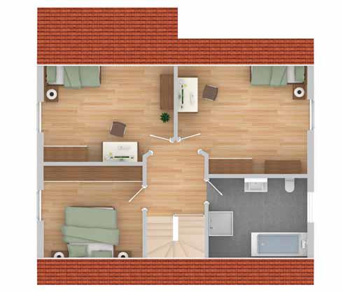 stadthaus peine im kfw 70 standard schl sselfertig ab 198. Black Bedroom Furniture Sets. Home Design Ideas