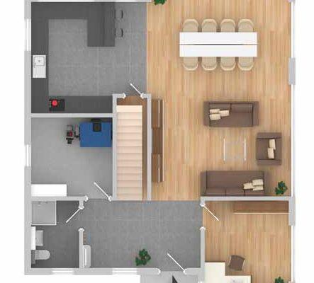 pultdachhaus braunschweig im kfw 70 standard. Black Bedroom Furniture Sets. Home Design Ideas