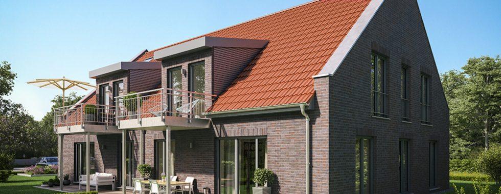Vermietet: 4 Neubau-Kft.-Wohnungen in Maschen-Ort