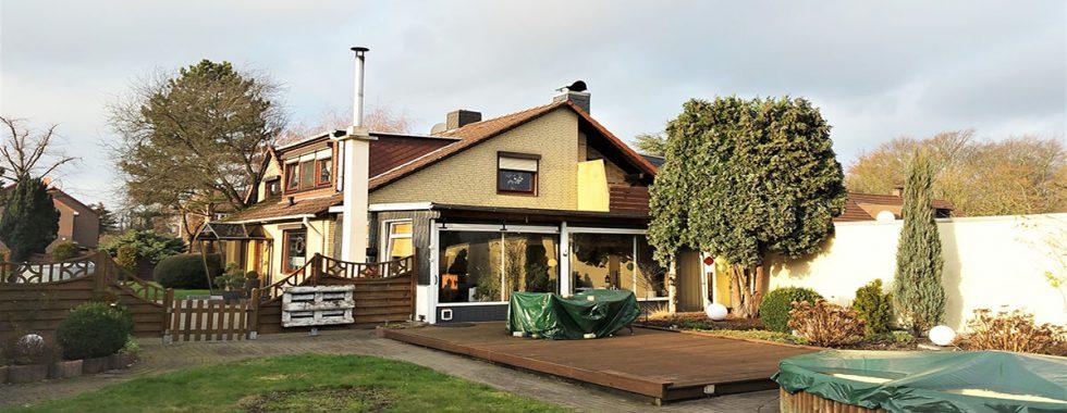 Verkauft: DHH mit großem Garten in Wilhelmsburg